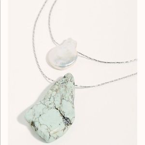 Free People Kayla Delicate Layered Necklace